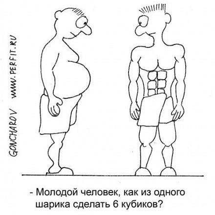 убрать жир не теряя мышечной массы